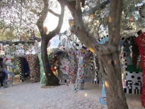 Declaradamente inspirada em Gaudi.